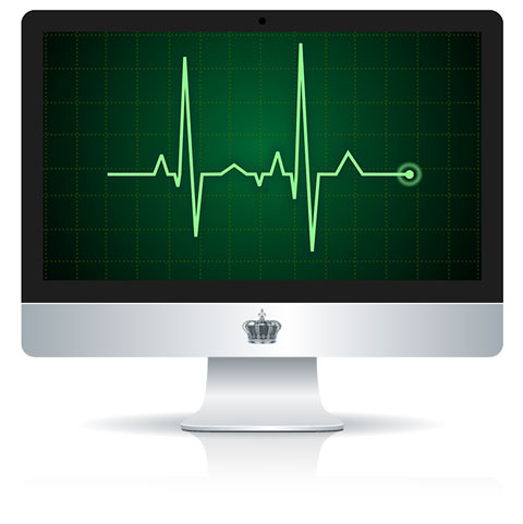 EKG On Mac Screen